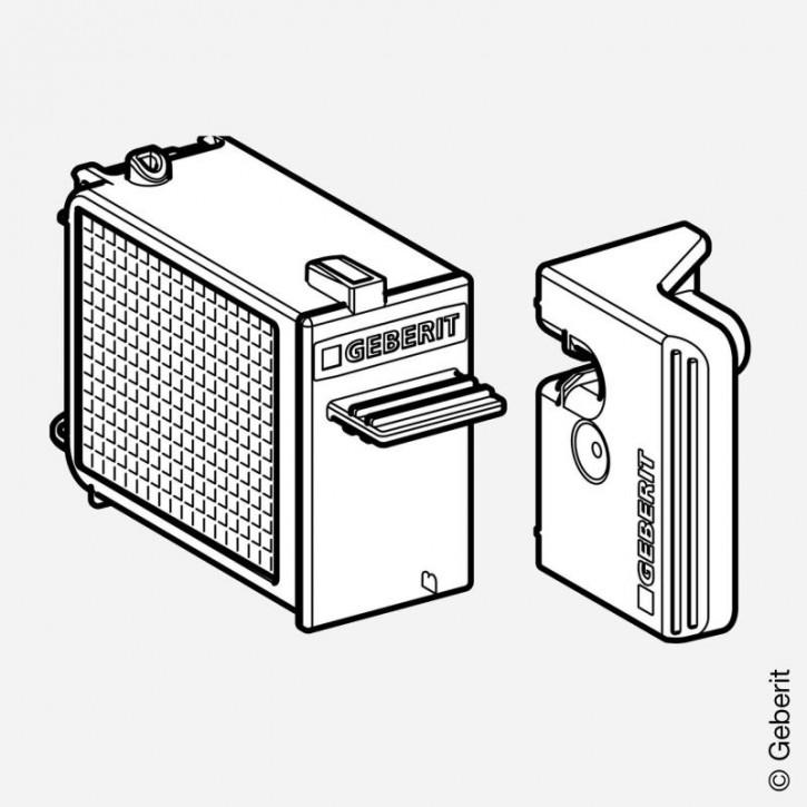 Schublade mit Filter für Geberit DuoFresh Modul