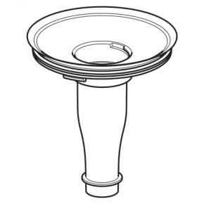 Geruchsverschlussadapter für Urinale Preda, Selva und Tamina